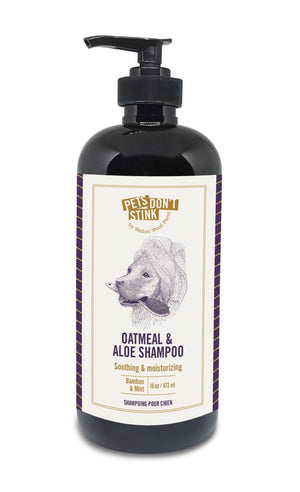 Dog Shampoo - Oatmeal & Aloe