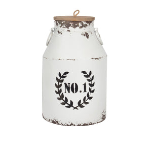 Canister - Antique White