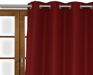 Lindor Curtain - Red