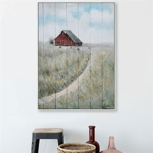 Path to the Farm - Oil Painting on Wood
