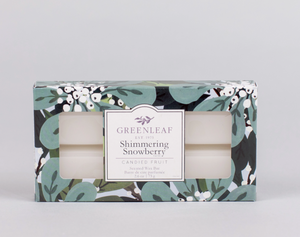 Scented Wax Bar - Shimmering Snowberry