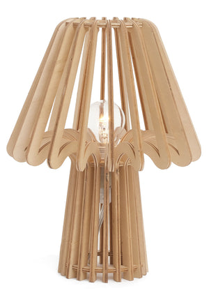 Wooden Table Lamp - Natural