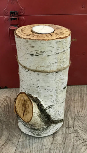 Classic Candle Holder - Birch