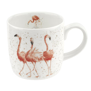 Pink Ladies Mug - Flamingos