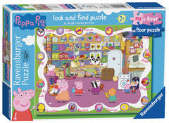 Peppa Pig 16pc First Floor Puzzle RB6961