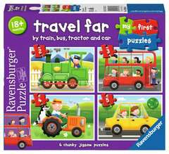 Ravensburger First Puzzles Travel 4 in a Box