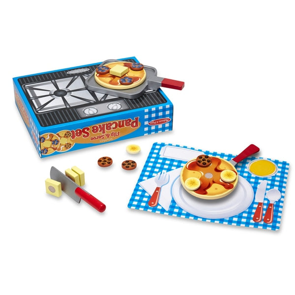 Melissa & Doug Wooden Pancake Set
