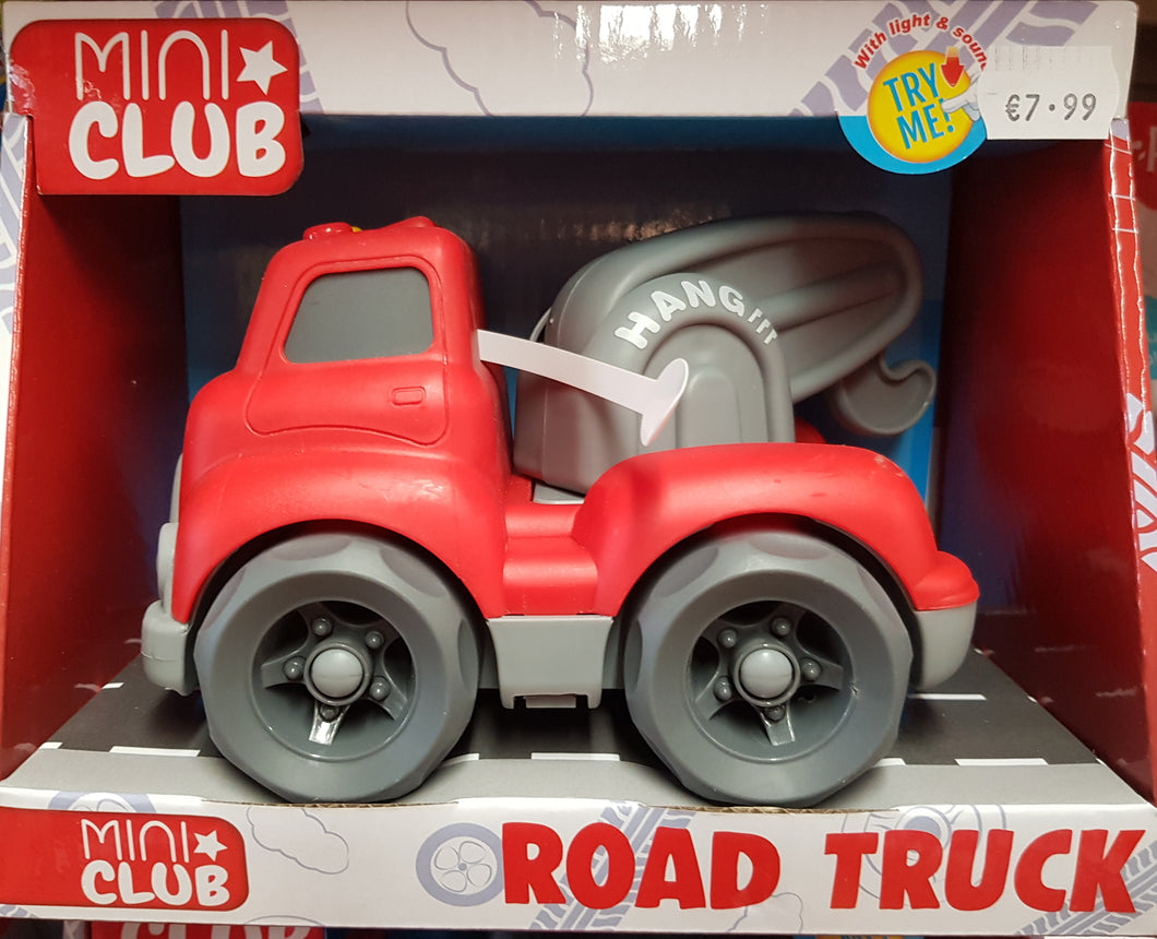 Red Road Truck with Lights & Sounds
