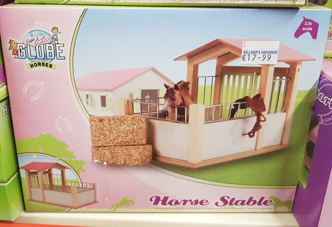 Kids Globe Pink Horse Stable 1:24