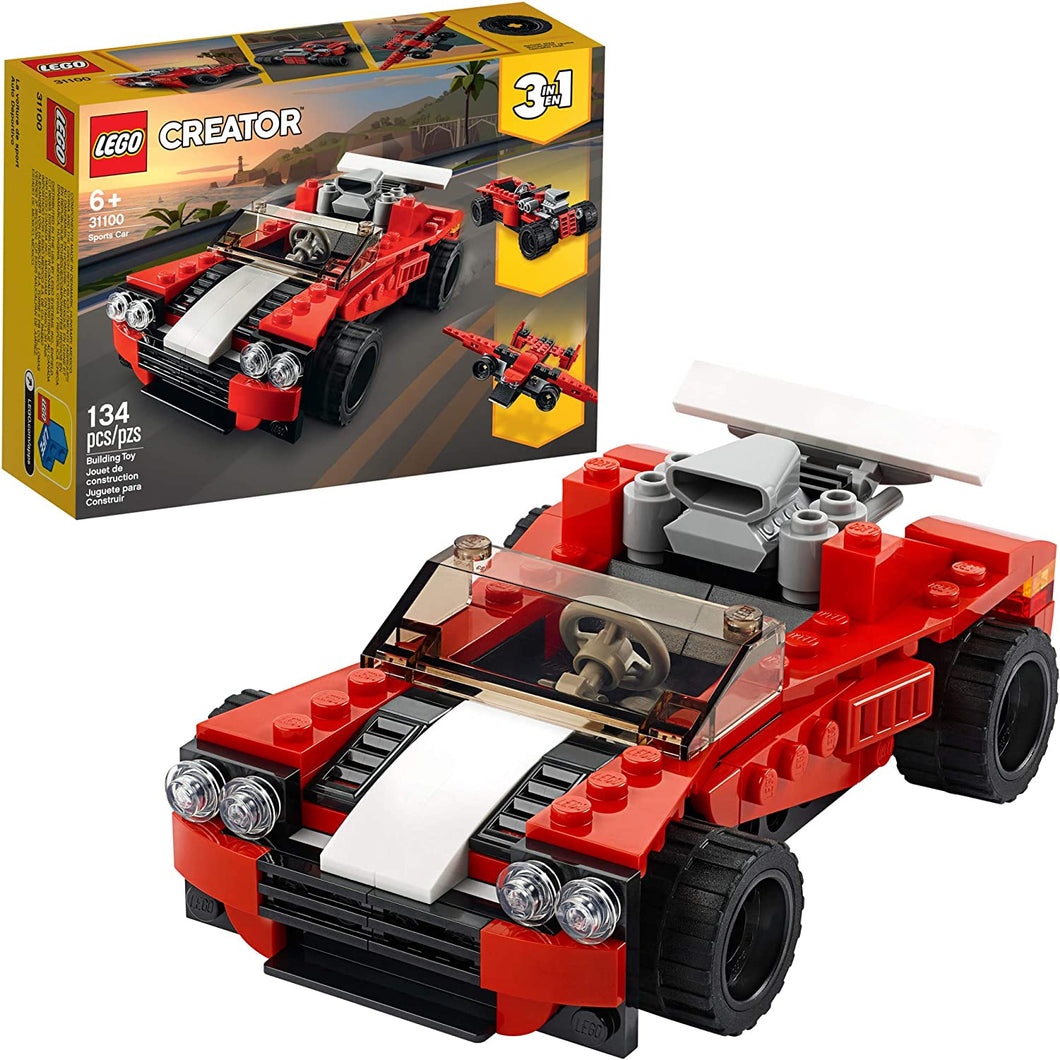 LEGO Creator 3in1 Sports Car Toy 31100 Building Kit