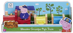 Peppa Pig Grandpa Pigs wooden Train