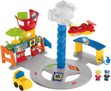 Load image into Gallery viewer, Fisher Price Little People Spinning Sounds Airport