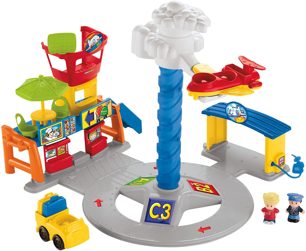 Fisher Price Little People Spinning Sounds Airport