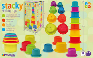 Peterkin Stacking Cups