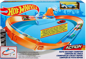 Hot Wheels Rapid Raceway Champion Set
