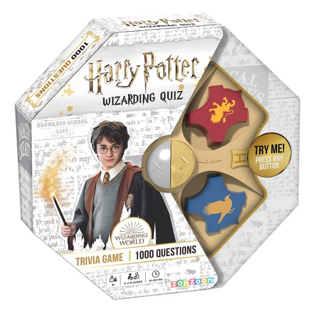 Harry Potter Wizardly Quiz Game