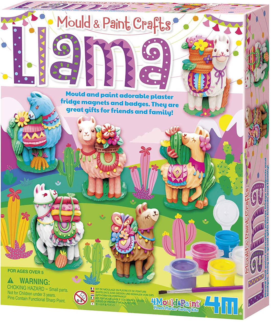 Mould & Paint Llamas