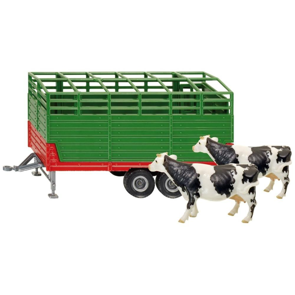 Siku Cattle Trailer with 2 Cows 1:32 (2875)