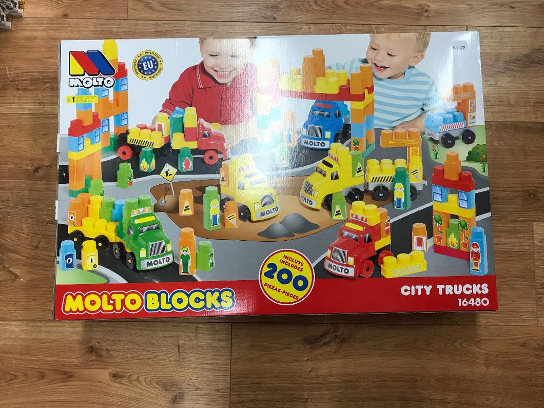 Molto Blocks 200PC City