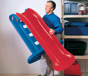 Little Tikes 5ft Large Slide Easy Store - Primary