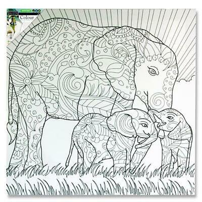 Colour My Canvas - Elephant G38/36507