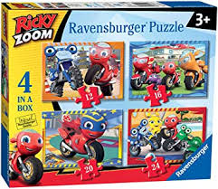 RICKY ZOOM 4 IN A BOX PUZZLE RB3054