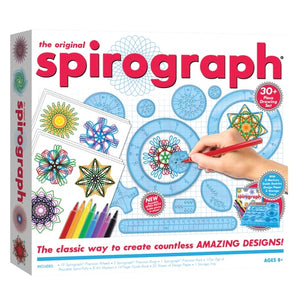 Spirograph Set With Markets