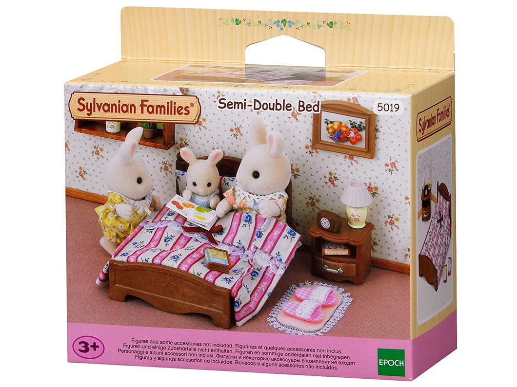 Sylvanian Families Semi Double Bed 5019