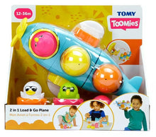 Load image into Gallery viewer, Tomy Toomies 2 in 1 Load & Go Plane