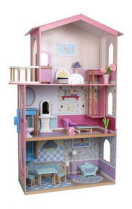 Small Foot Wooden Dolls House (Pink)