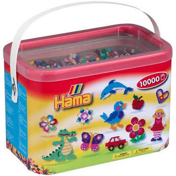 Hama Beads 10,000 Bead Bucket