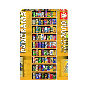 2000 piece Soft Cans Jigsaw