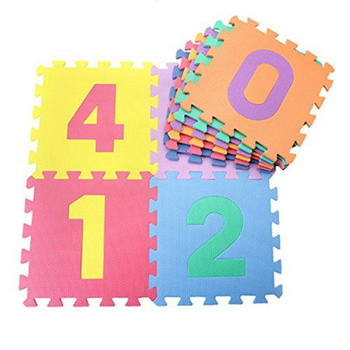 Number Playmat 10 pieces