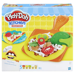 Playdoh Pizza Party