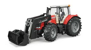Bruder Massey Ferguson 7624 with Front Loader 3047