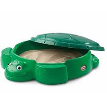 Load image into Gallery viewer, Little Tikes Turtle Sandbox