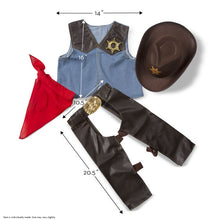 Load image into Gallery viewer, Melissa & Doug Cowboy Outfit