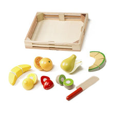 Load image into Gallery viewer, Melissa & Doug Wooden Cutting Fruit