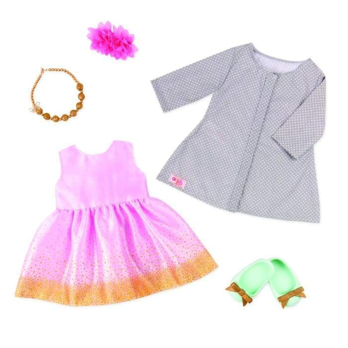 Our Generation Celebration Style Deluxe Outfit 30320