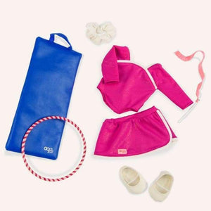 Our Generation Leaps And Bounds Gymnastics Deluxe Outfit 30244