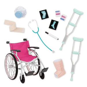 Our Generation Wheelchair Medical Set