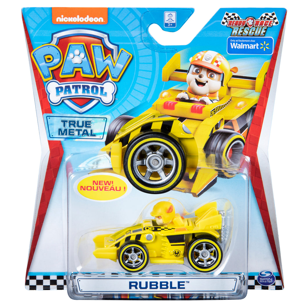 Paw Patrol True Metal Ready Race Rescue Rubble