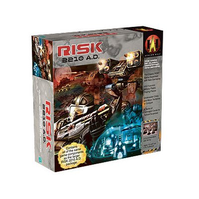 Risk 2210 A.D Board Game