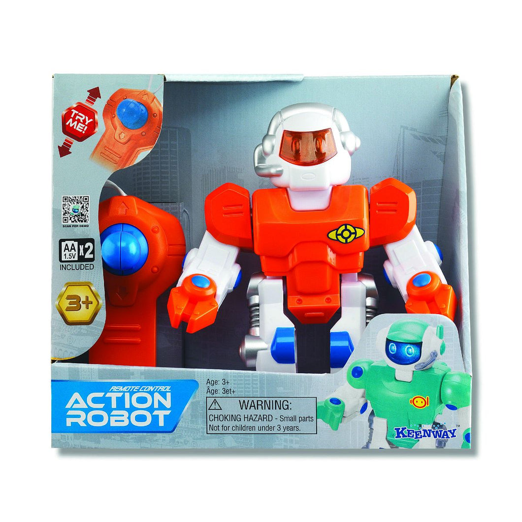 Remote Control Action Robot