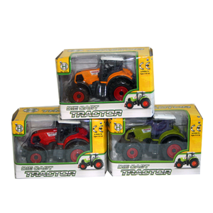 Sml Die Cast Tractor Assorted
