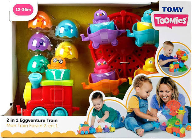 Tomy Toomies 2 in 1 Eggventure Train Set