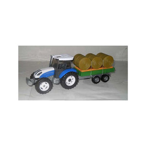 Tractor and Bailer Trailer