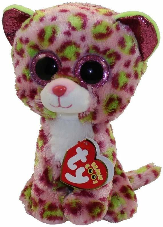 TY Beanie Boo Lainey Leopard