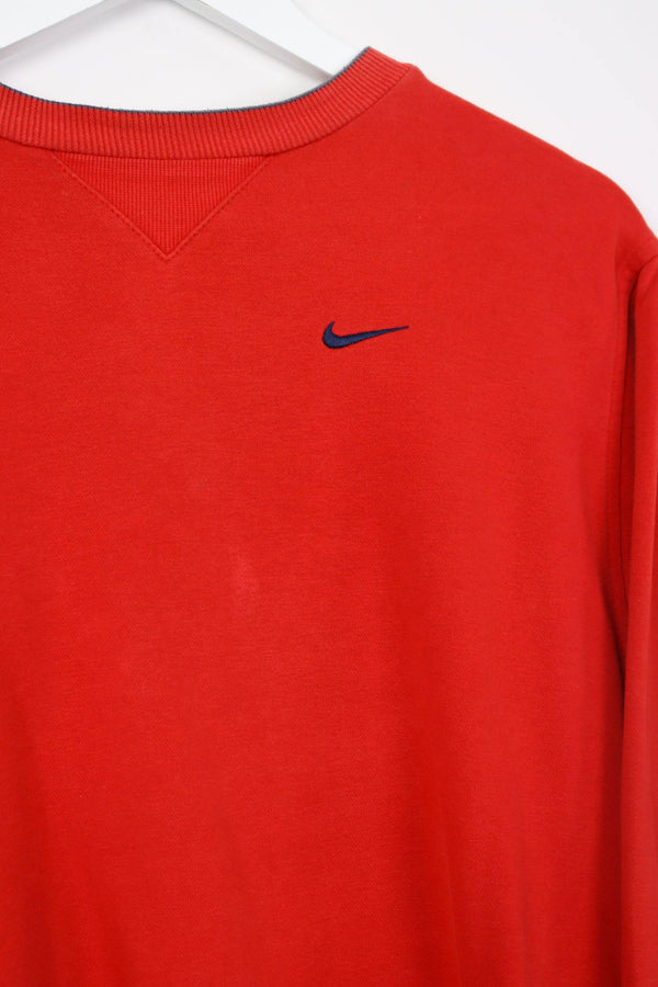 Vintage Nike Logo Sweater XS - Grey