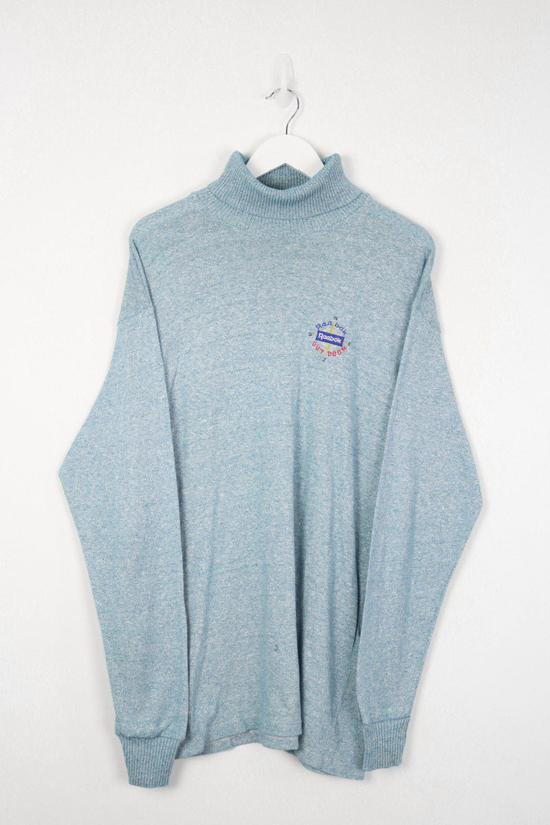 Vintage Adidas Logo Sweater S - Purple